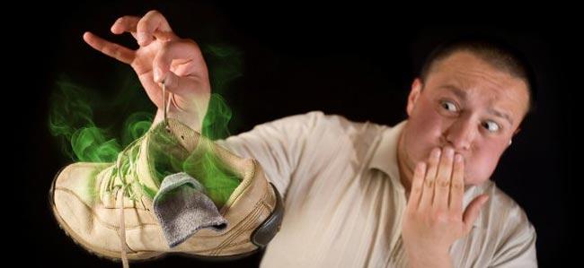 از بین بردن بوی بد پا ، رعایت بهداشت آقایان - قلقلی خان